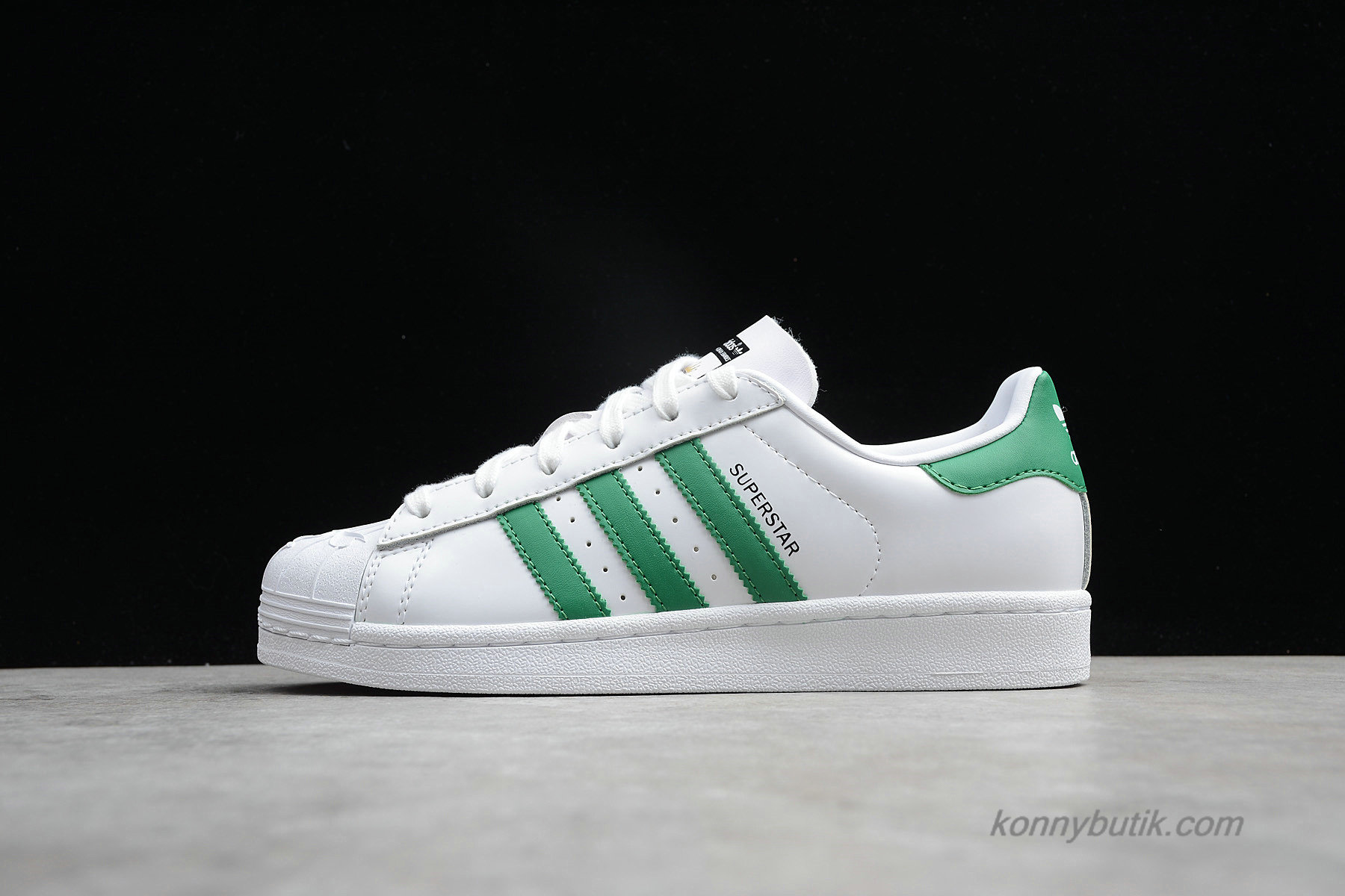 Adidas Originals Superstar Nigo Bearfoot Unisex Sko Hvid / Grøn (S83385)