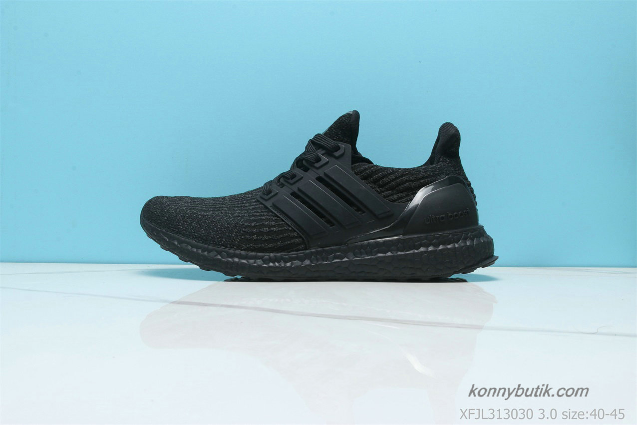 2019 Adidas Ultra Boost 3.0 Herre Sko Sort