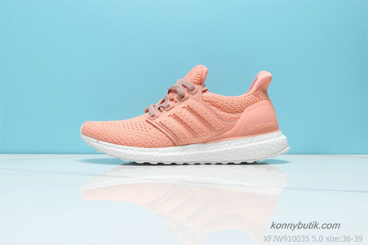 Adidas Ultra Boost Clima Dame Sko Orange / Hvid (BY8888)