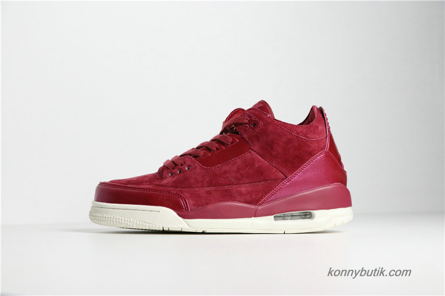 Air Jordan 3 Retro SE AJ3 Dame Sko Bordeaux (AH7859-600)
