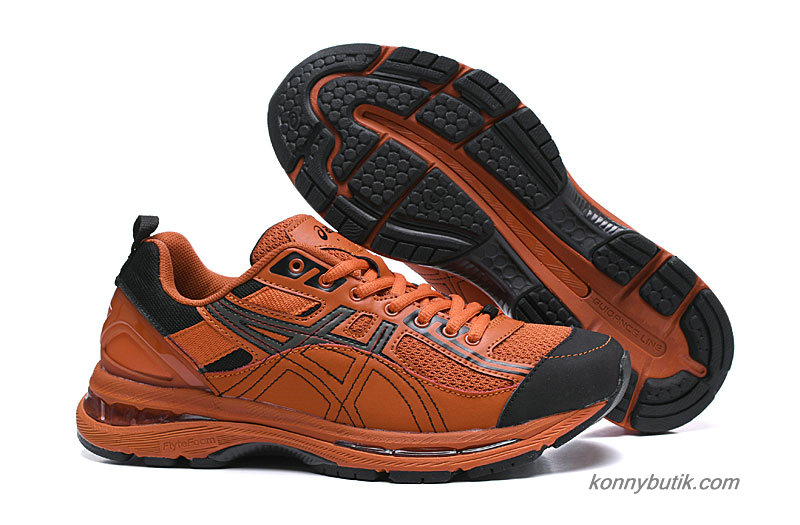 Kiko Kostadinov x Asics Gel-Burz 2 Herre Sko Orange / Sort