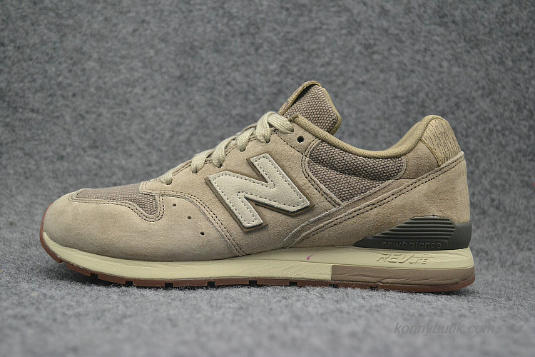 2019 New Balance 996 Unisex Sko Khaki / Sort (MRL996PC)
