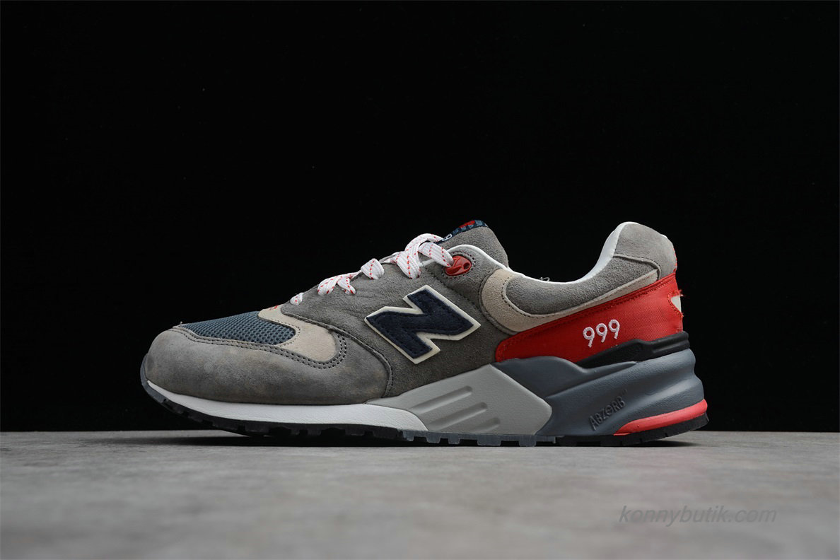 2019 New Balance 999 Herre Sko Grå / Rød / Rød / Sort (ML999CRA)