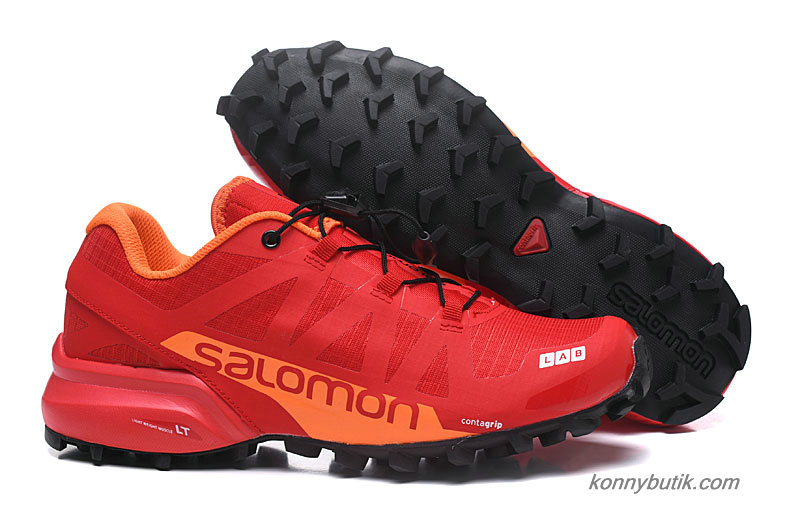 2019 Salomon Speedcross PRO 2 Herre Sko Rød / Orange / Sort