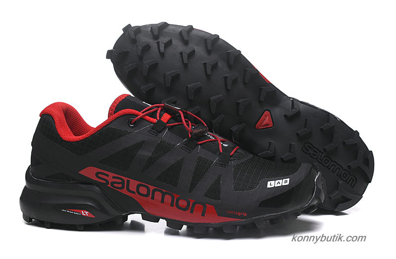 2019 Salomon Speedcross PRO 2 Herre Sko Sort / Rød