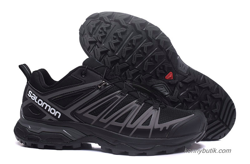 2019 Salomon X Ultra 3 GTX Herre Sko Sort / Grå