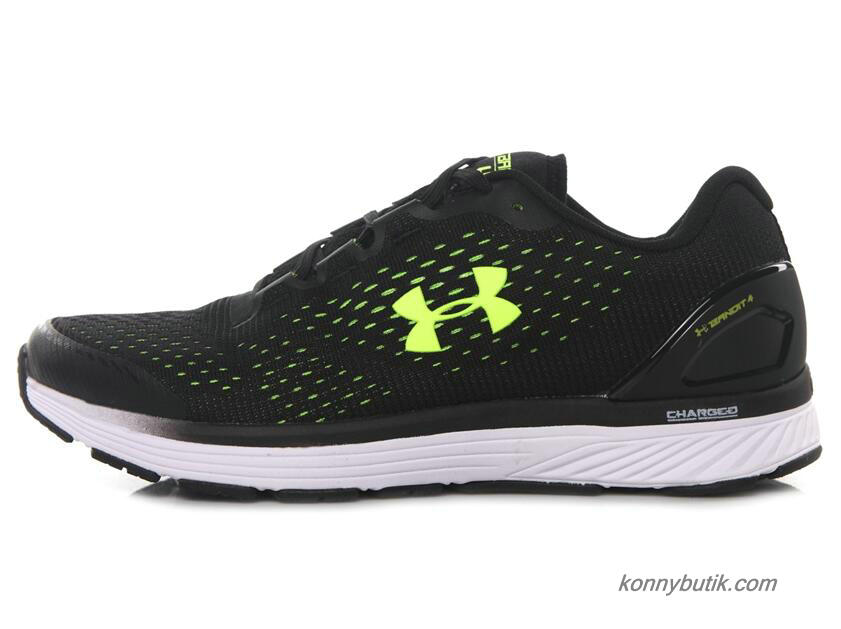 2019 Under Armour Charged Bandit 4 Herre Sko Sort / Grøn