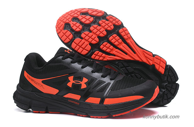 2019 Under Armour Charged Bandit Herre Sko Sort / Orange