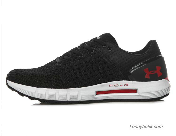 2019 Under Armour HOVR Sonic Connected Herre Sko Sort / Hvid / Rød