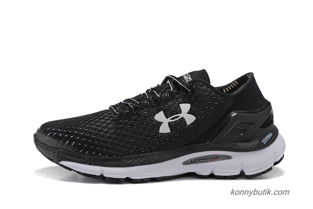 2019 Under Armour SpeedForm Gemini Herre Sko Sort / Hvid