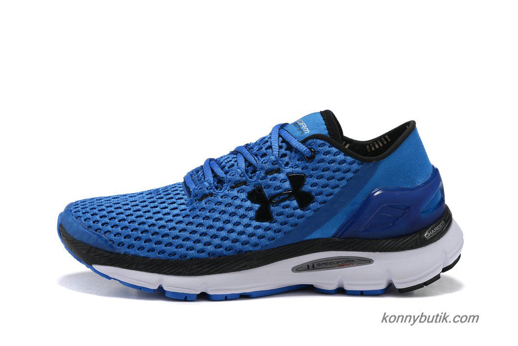 2019 Under Armour SpeedForm Gemini Herre Sko Blå / Sort