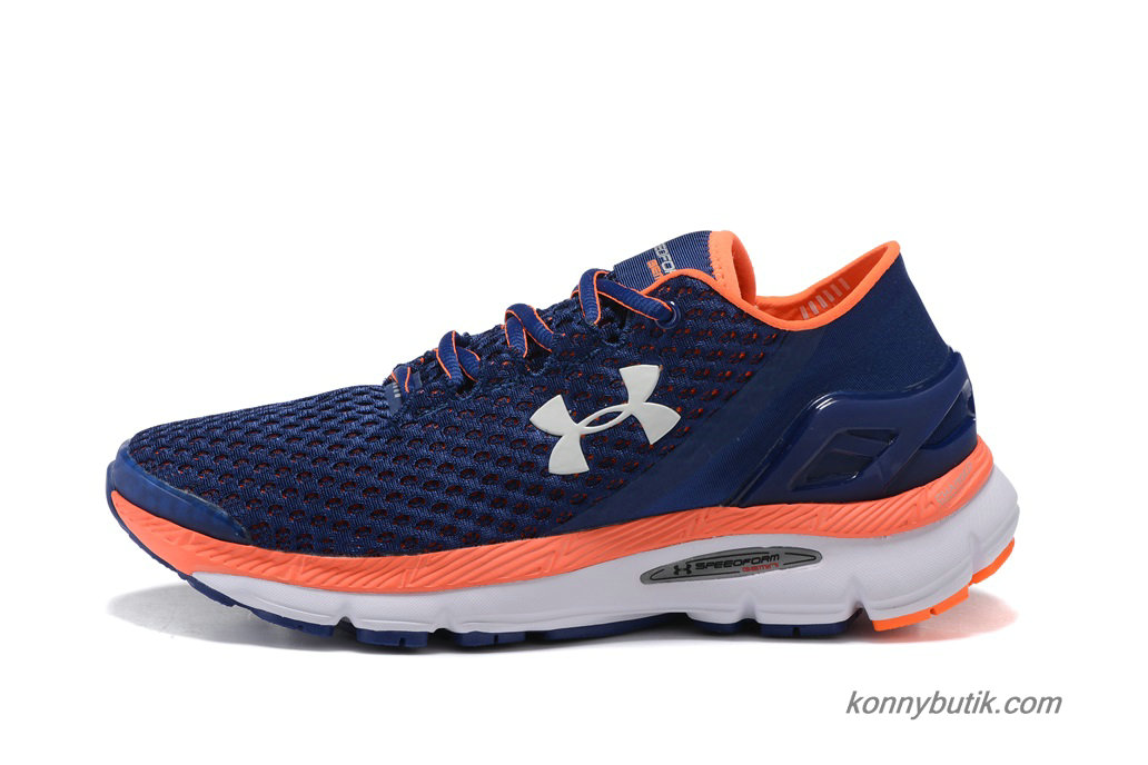 2019 Under Armour SpeedForm Gemini Herre Sko Marine blå / Orange