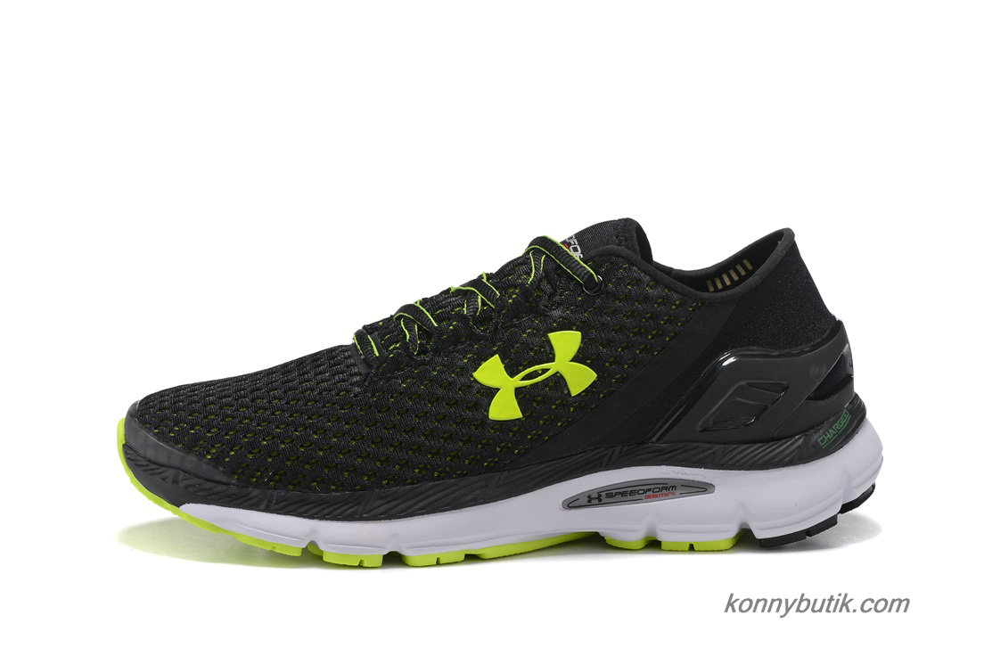 2019 Under Armour SpeedForm Gemini Herre Sko Sort / Grøn