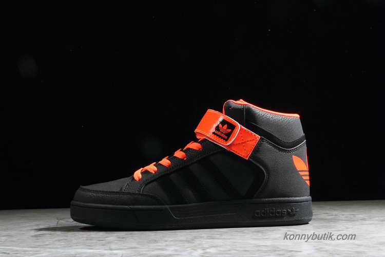 Adidas Originals Varial Mid Unisex Sko Sort / Orange (D68666)