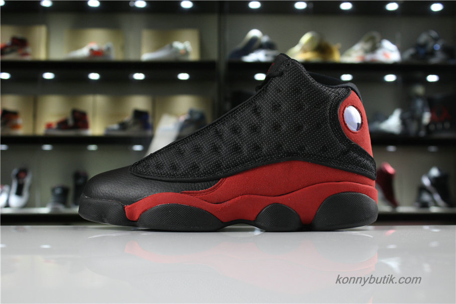 Air Jordan 13 Retro AJ13 Herre Sko Sort / Rød (414571-007)