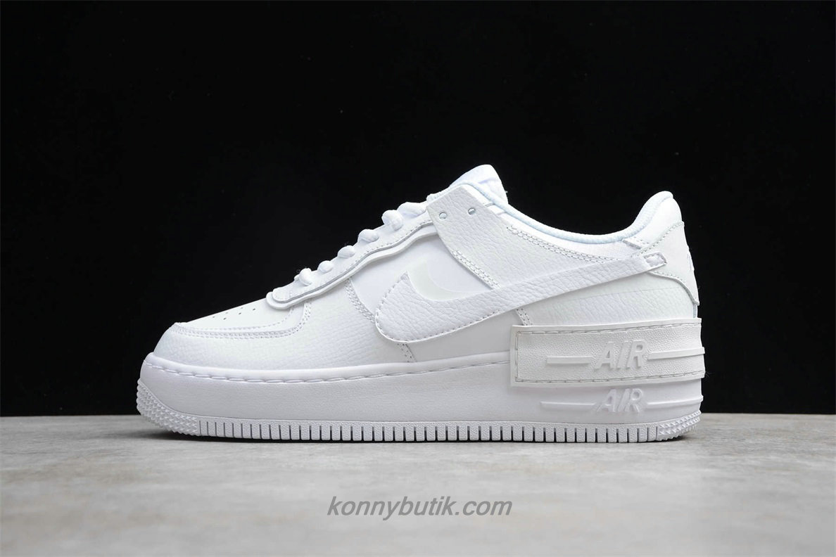 Nike Air Force 1 Shadow Dame Sko Hvid (CI0917 1001)