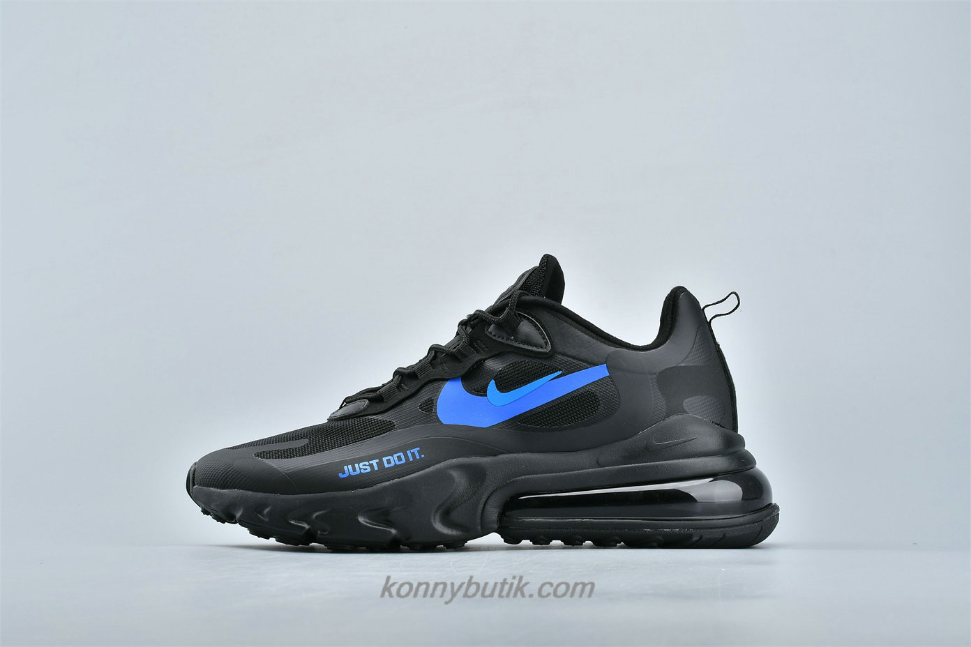 Nike Air Max 270 React Unisex Sko Sort / Blå (CT2203 001)