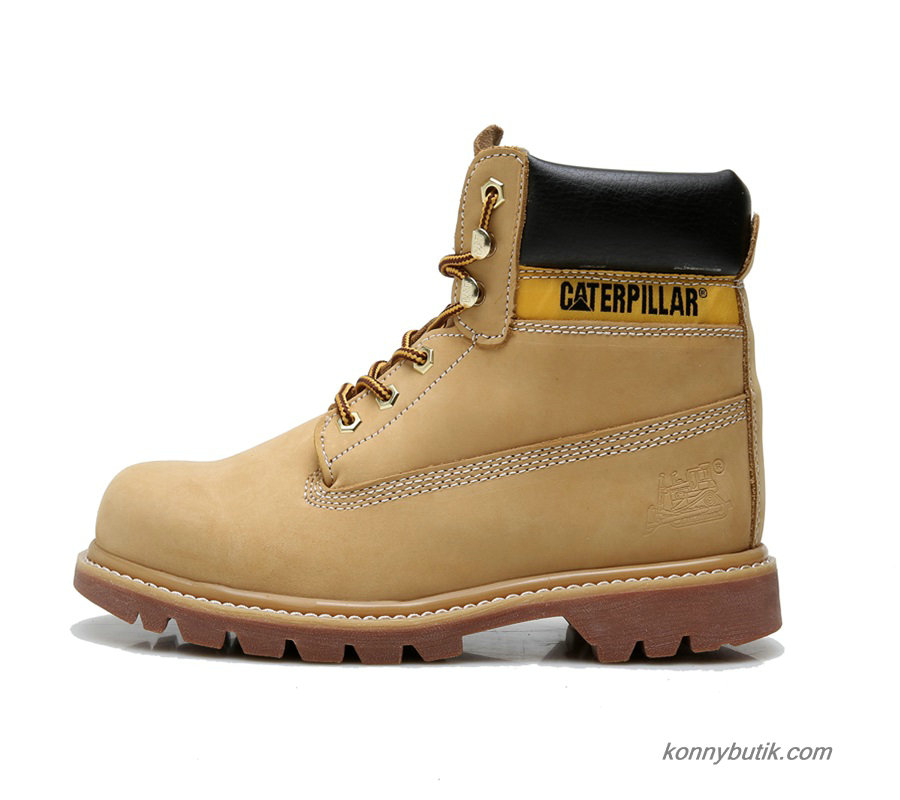2019 Caterpillar Colorado Waterpoof Herre Støvler Camel