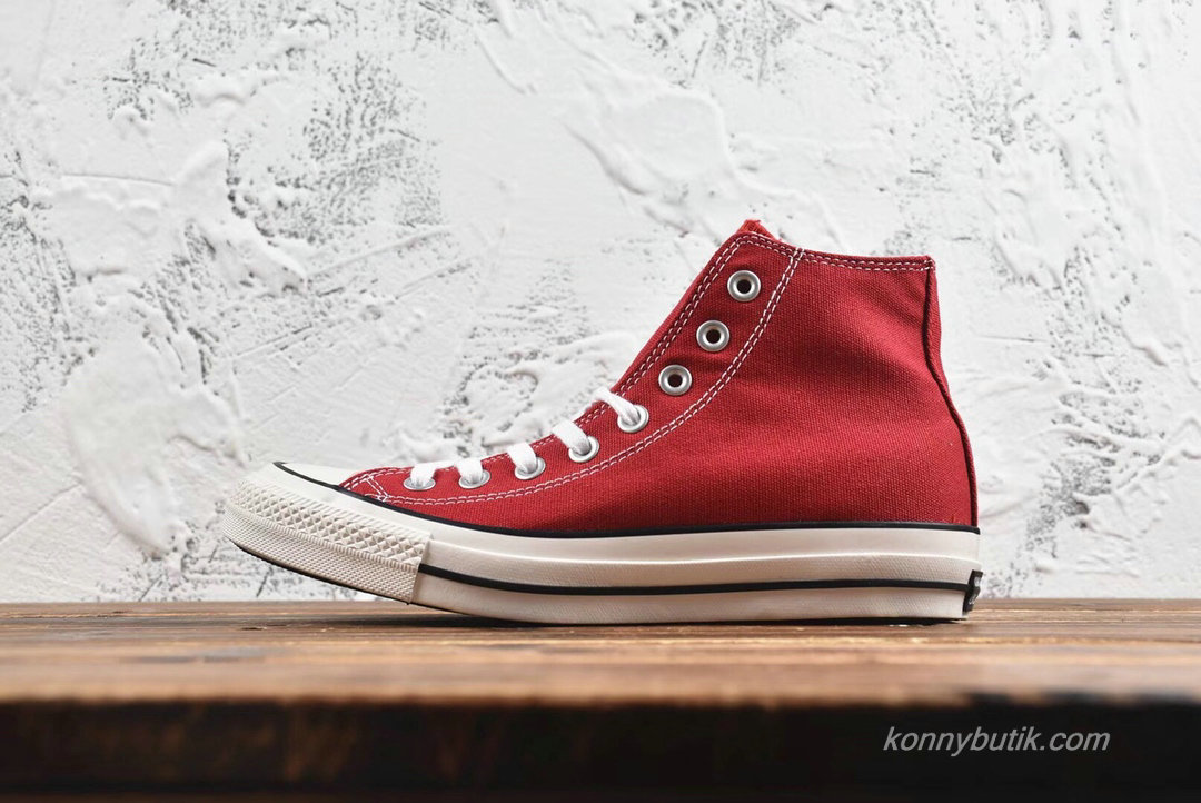 Converse All Star 100 Colors HI Unisex Sko Rød / Hvid / Sort (H686EA)