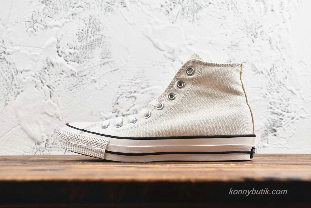 Converse All Star 100 Colors HI Unisex Sko Hvid / Sort (H687EA)