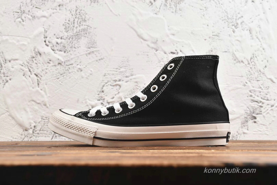 Converse All Star 100 Colors HI Unisex Sko Sort / Hvid (H688EA)