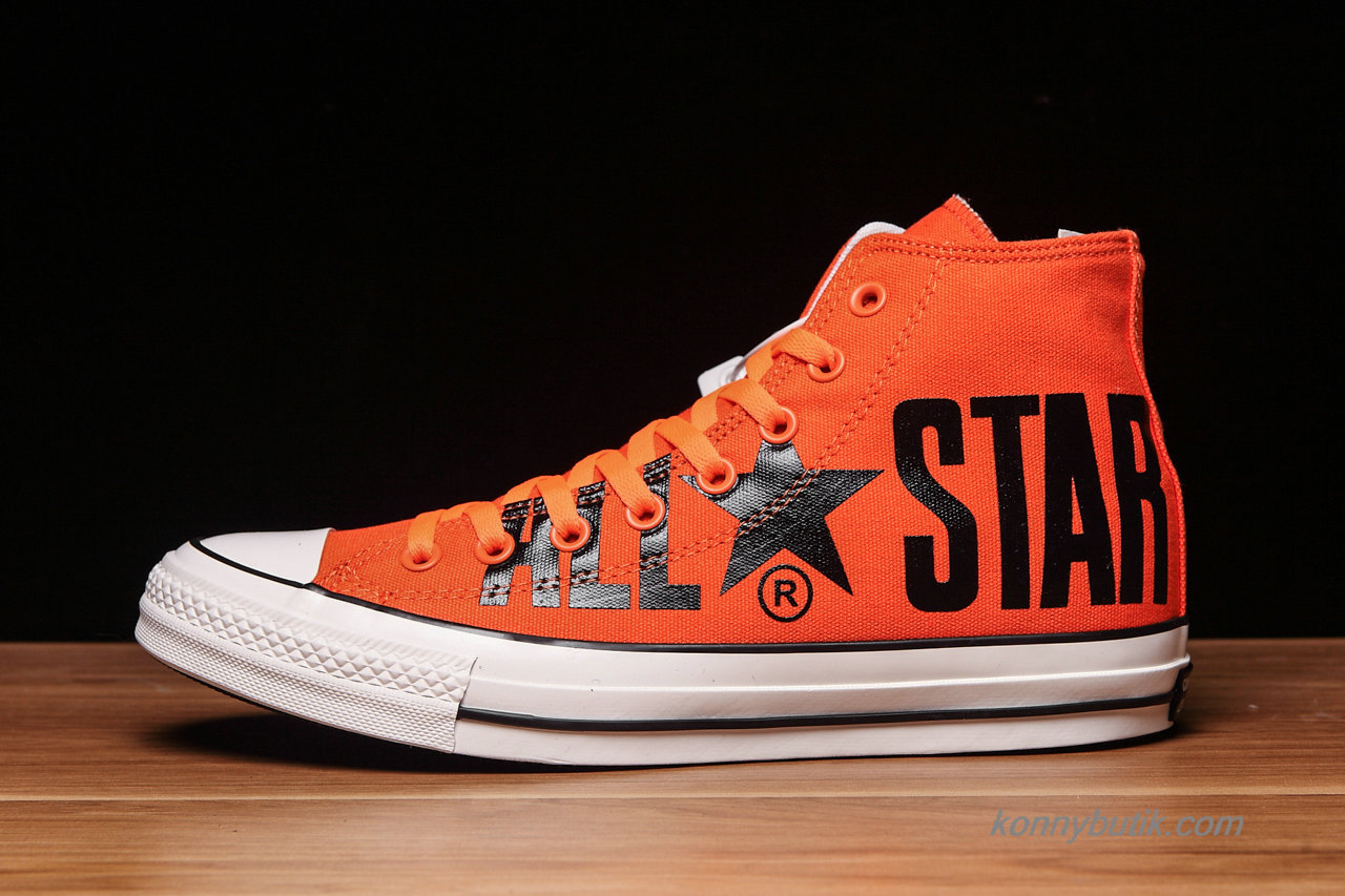 Converse All Star Biglogo SP HI Unisex Sko Orange / Sort (1CL027)