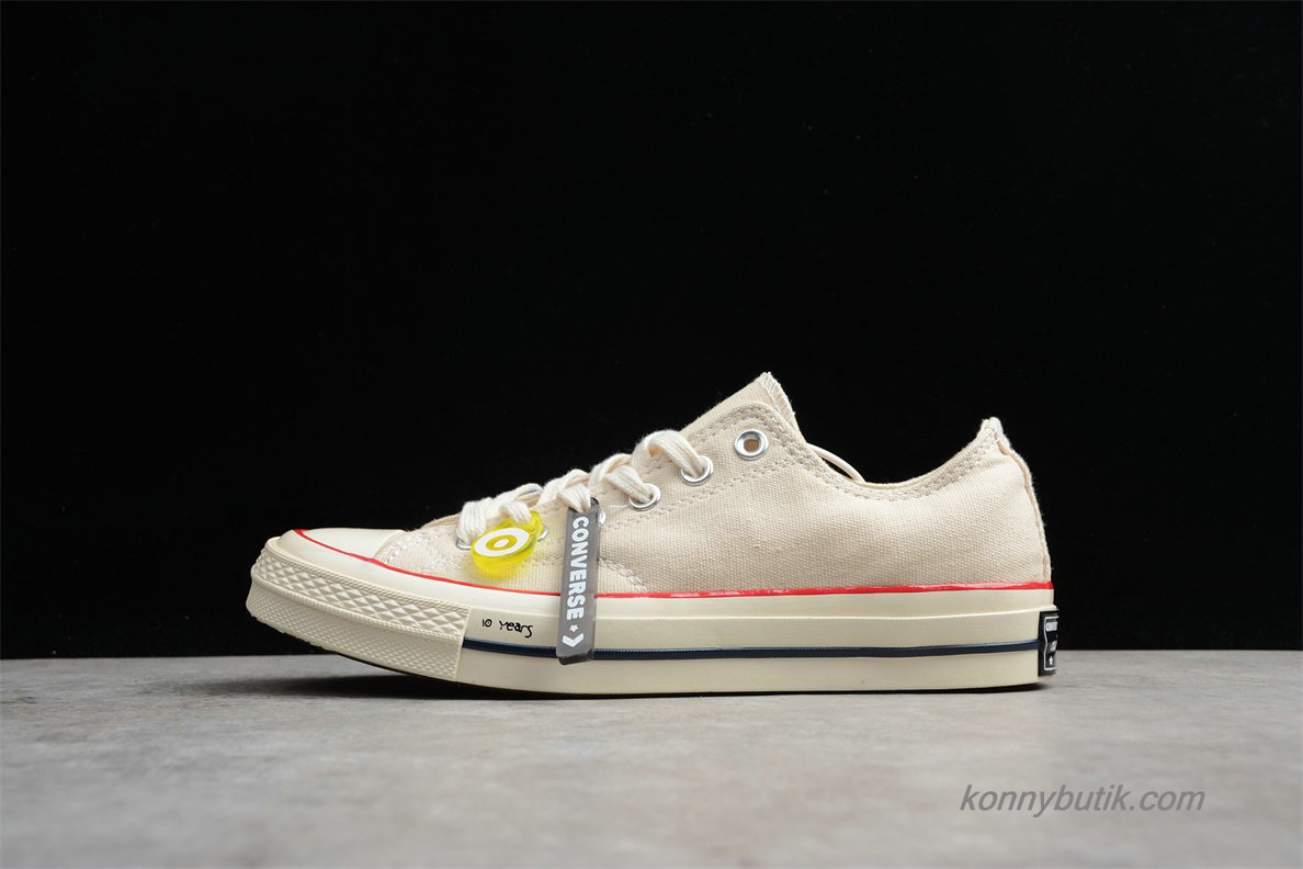 Converse Chuck Taylor All Star 70 Low Unisex Sko Off-White (162062C)