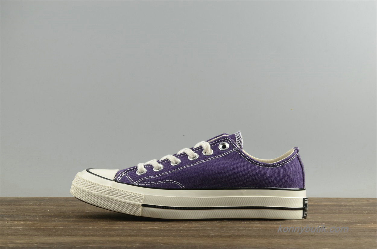 Converse Chuck Taylor All Star 1970s Low Dame Sko Lilla (157568C)