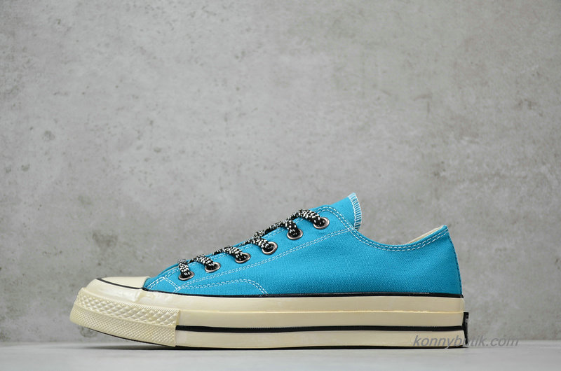 Converse Chuck Taylor All Star 1970s Low Rapid Teal Unisex Sko Lyseblå (162367C)