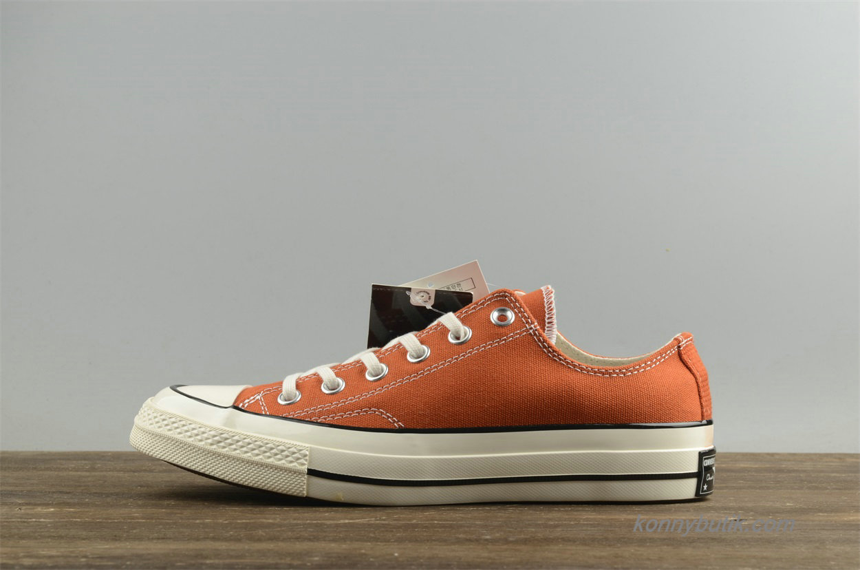 Converse Chuck Taylor All Star 1970s Low Unisex Sko Orange (157570C)