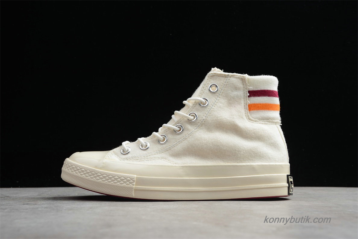 Converse Chuck Taylor All Star 70 HI Dame Sko Off-White (163364C)