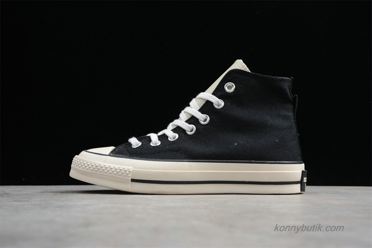 Converse Chuck Taylor All Star 70 HI Unisex Sko Sort / Off-White (162349C)