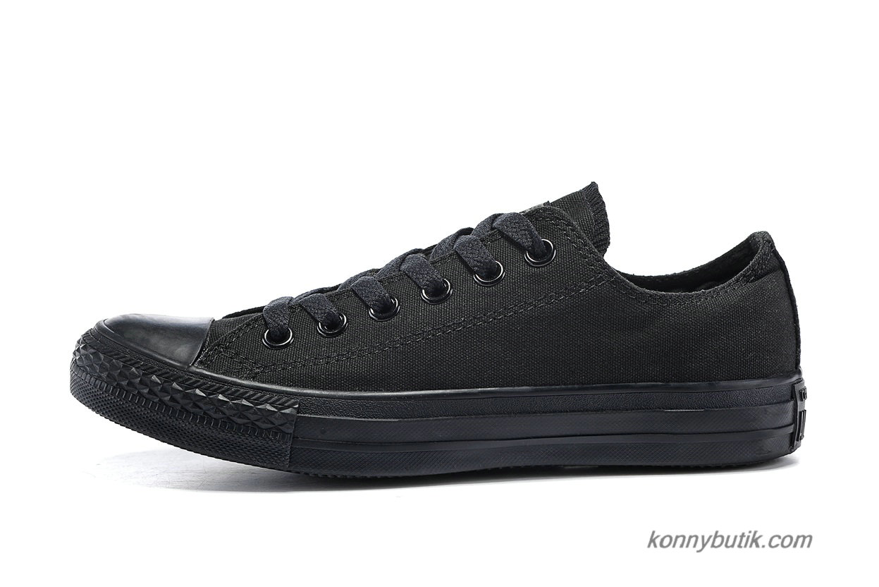 Converse Chuck Taylor All Star Low Classic Unisex Sko Sort (1Z635)