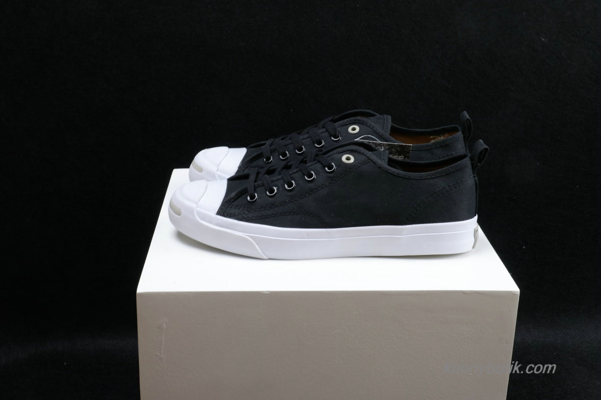 Converse Jack Purcell x Hancock Low Unisex Sko Sort