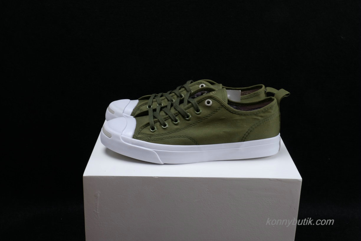 Converse Jack Purcell x Hancock Low Unisex Sko Oliven