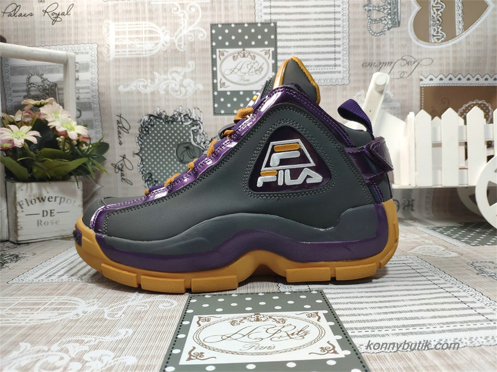 2019 Fila 96 X Snipes High Top Herre Sko Sort / Lilla / Brun