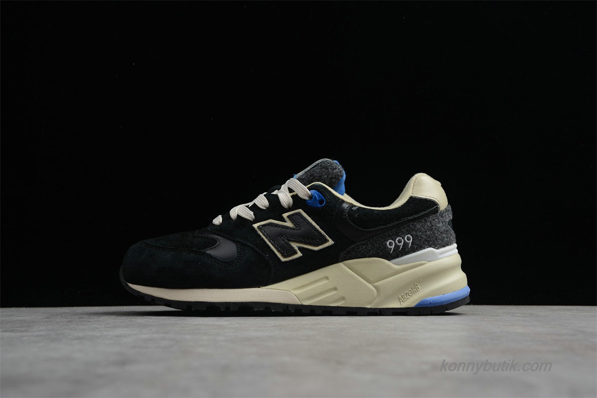 2019 New Balance 999 Dame Sko Sort / Khaki / Blå (ML999MMTY)