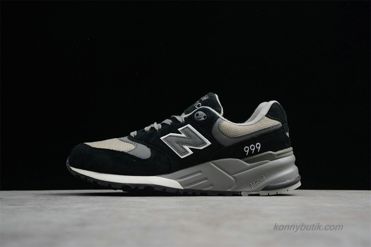 2019 New Balance 999 Herre Sko Sort / Grå / Khaki (ML999BK)
