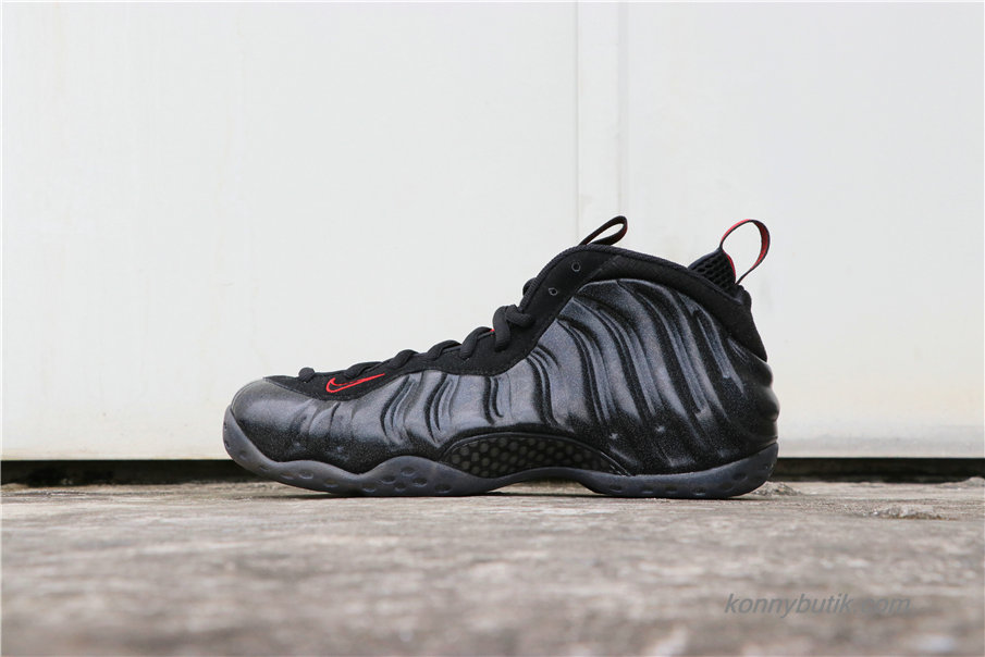 Nike Air Foamposite One Herre Sko Sort / Rød (314996-901)