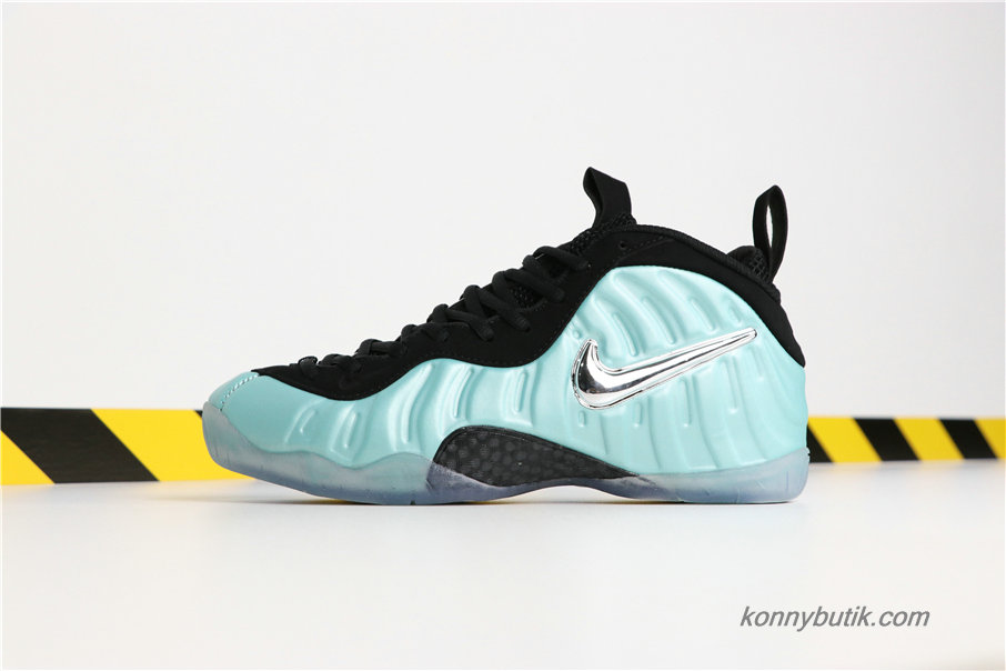 Nike Air Foamposite Pro Herre Sko Grøn / Sort (624041-303)