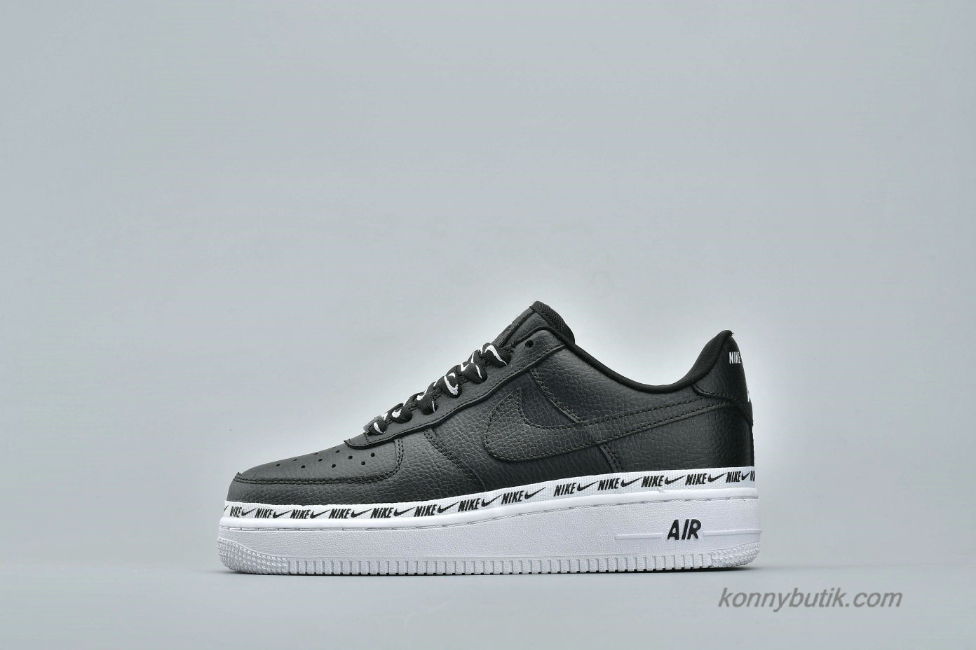 Nike Air Force 1 07 SE PRM Low Unisex Sko Sort / Hvid (AH6827-002)