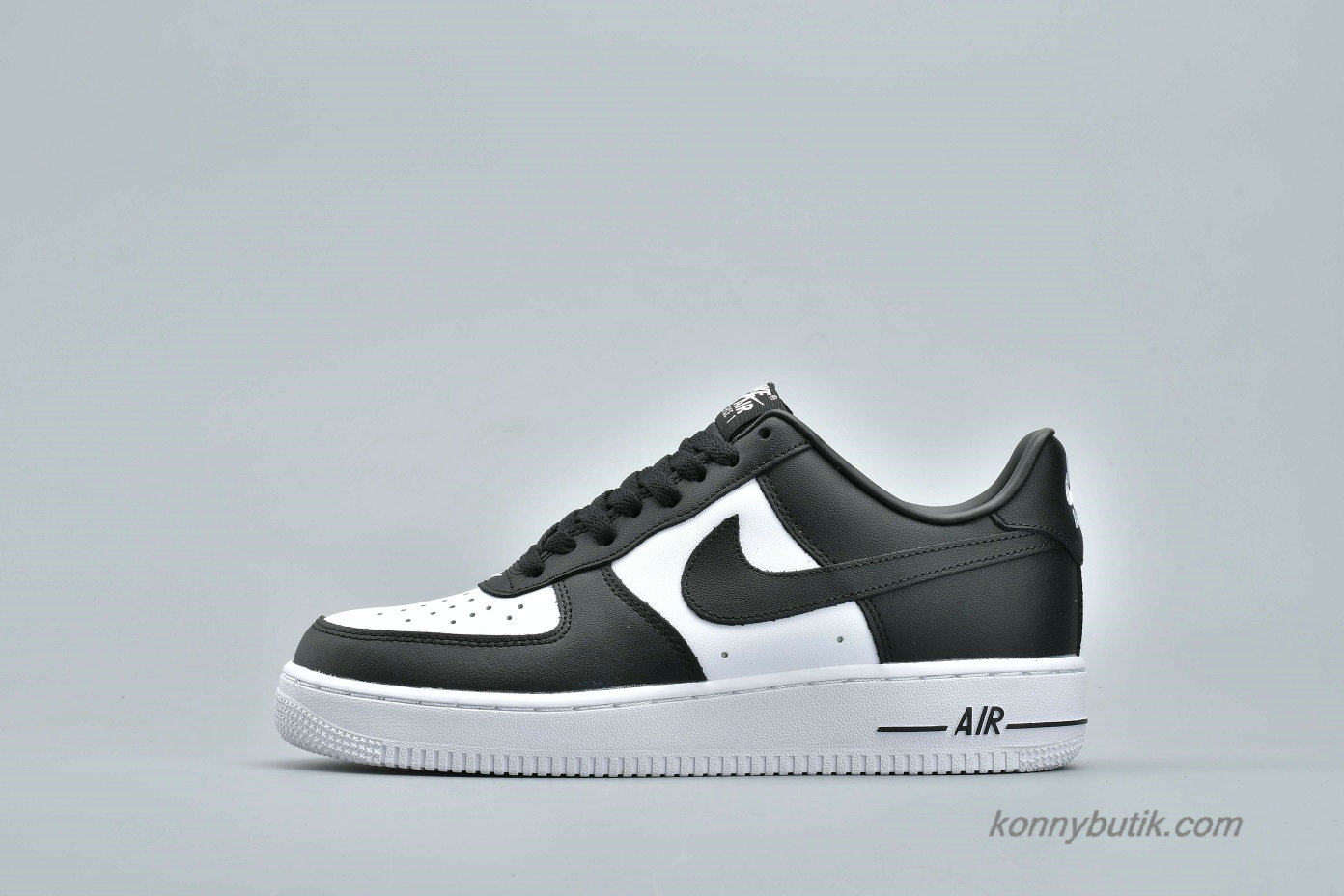 Nike Air Force 1 Low LO Unisex Sko Sort / Hvid (AQ4134-100)