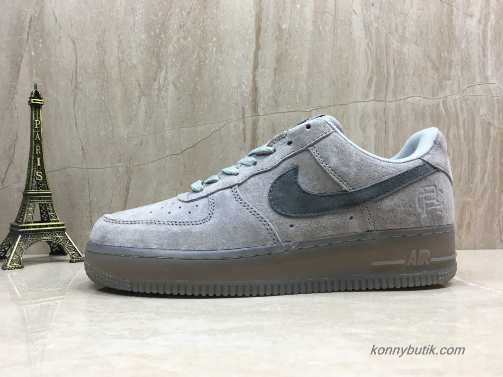 Nike Air Force 1 Low Suede Herre Sko Grå (888853-200)