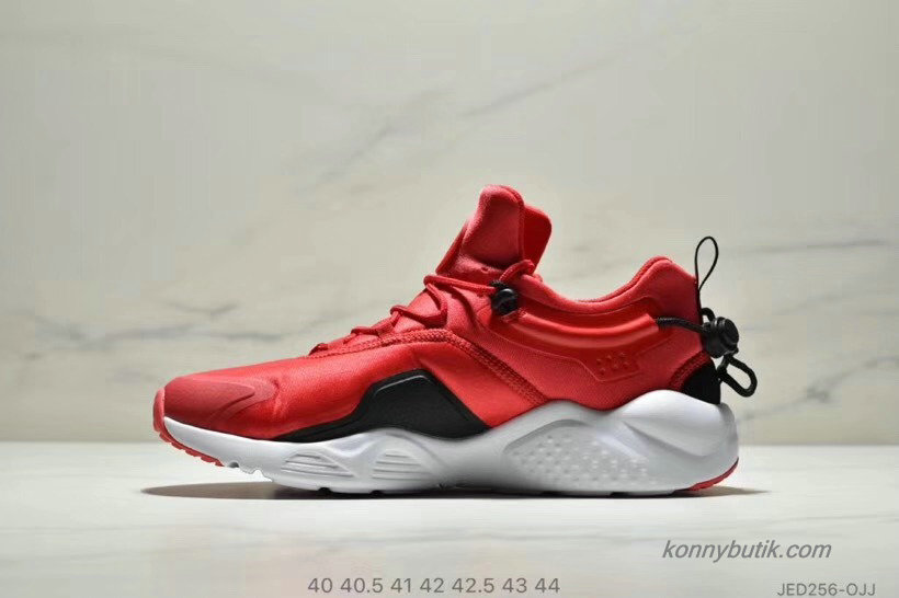 Nike Air Huarache City Move Herre Sko Rød / Sort / Hvid