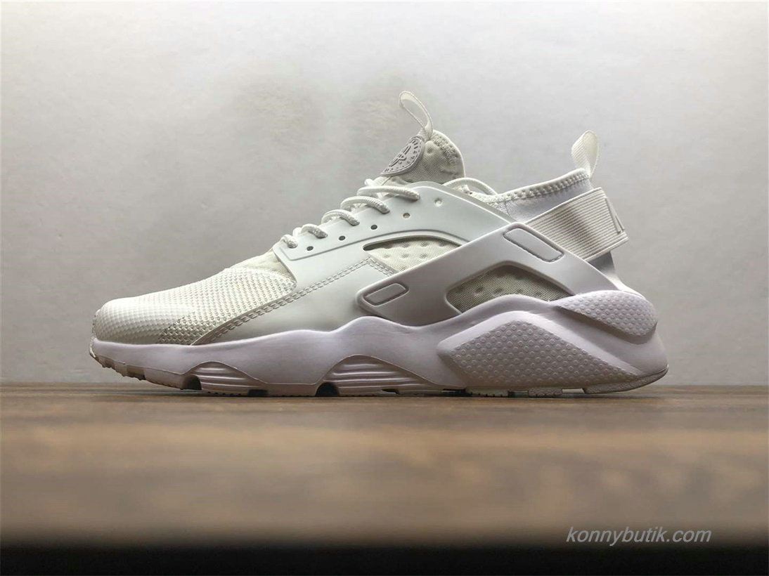 Nike Air Huarache Run Ultra Unisex Sko Off-White (819685-101)