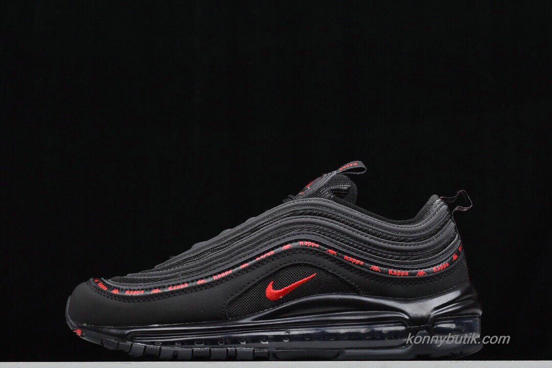 2019 Nike Air Max 97 Unisex Sko Sort / Rød