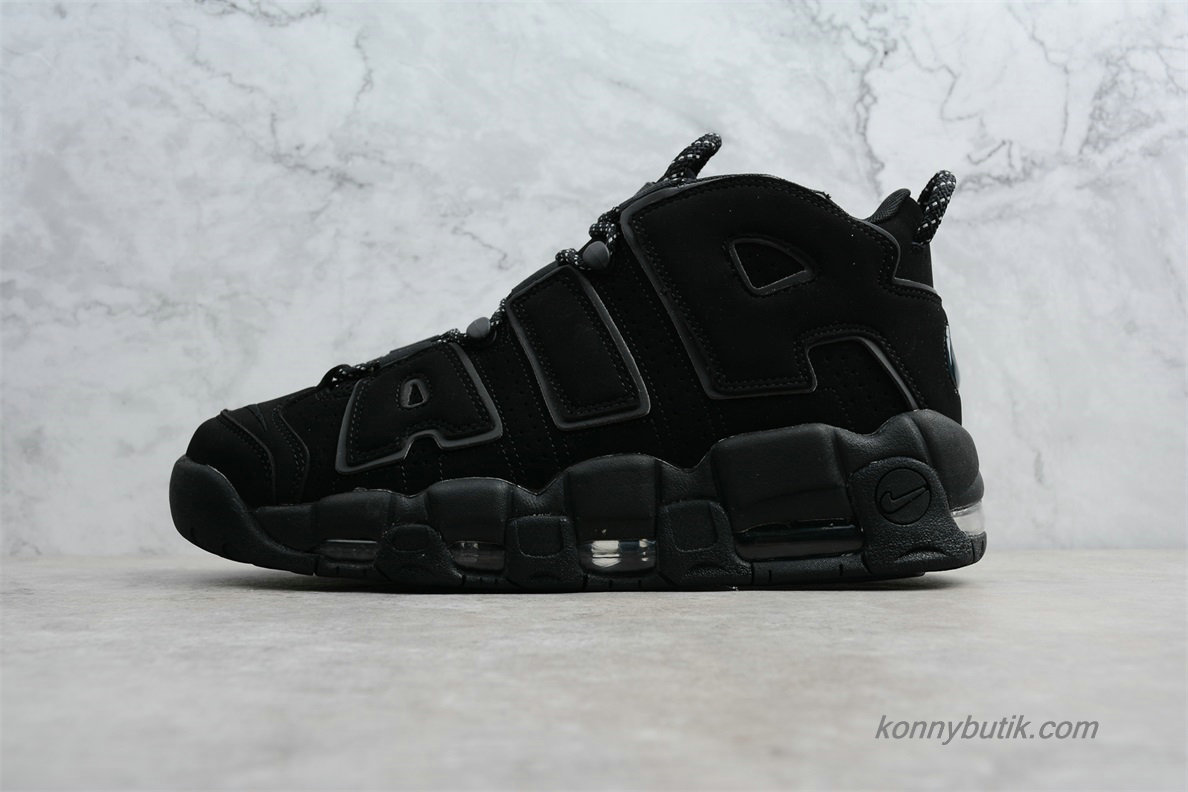 2019 Nike Air More Uptempo OG Herre Sko Sort