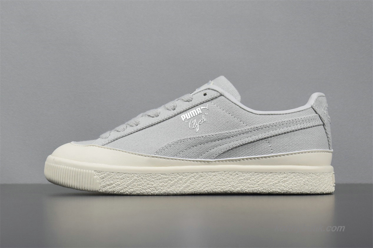 2019 Puma Clyde x Diamond Dame Sko Grå / Off-White (365651-02)