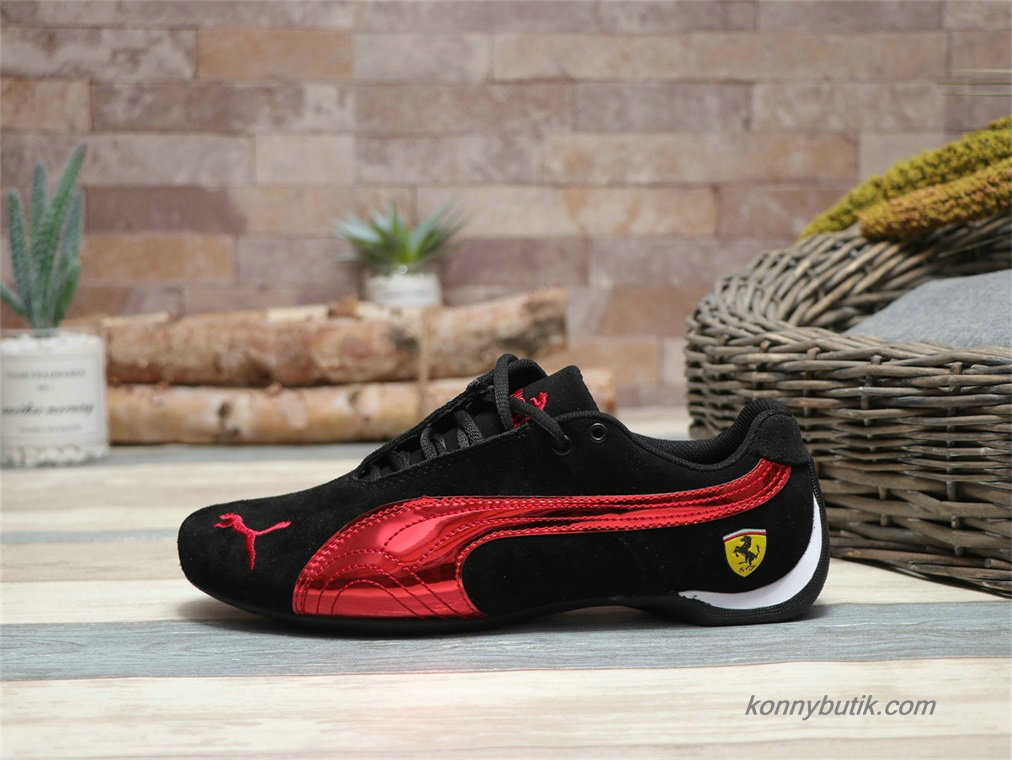 Puma Future Cat SF Suede Herre Sko Sort / Rød
