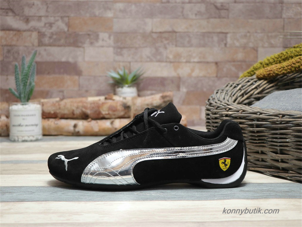 Puma Future Cat SF Suede Herre Sko Sort / Sølv